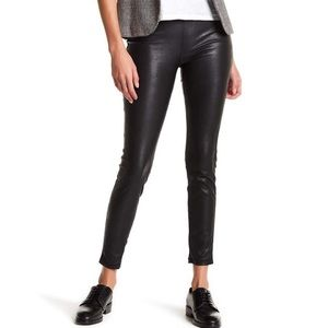 Blank NYC black faux leather leggings